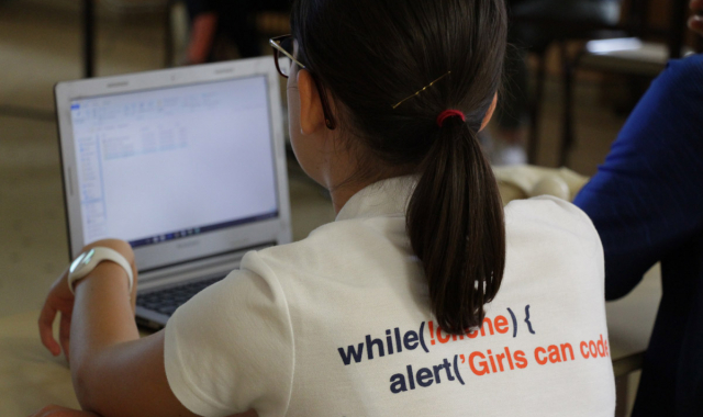 Girls Can Code – retour sur la semaine