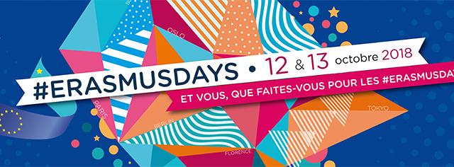 ErasmusDays – Présentation des projets Erasmus + à l'Université de Nantes